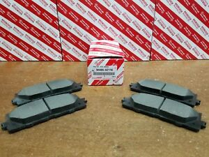 Image Is Loading Toyota Camry 2007 2017 Front Ceramic Brake Pads
