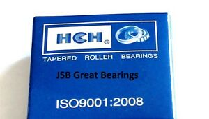 HCH 30205 single raw tapered roller bearing set (cup & cone) 30205 bearings