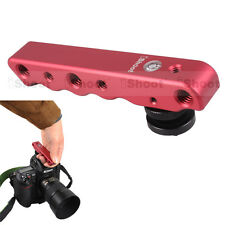 Hand Metall DC DV Kameraneiger Kameraschiene für Canon EOS 1DX 1D Mark IV 6D 7D