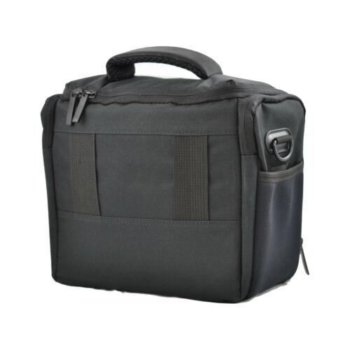 Negro DSLR cámara bandolera Funda Para Nikon D5000 D5100 D5200 D600 D700 D7000