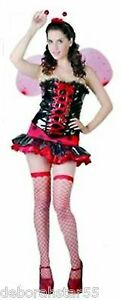 2019 Neuestes Design Ladybird Costume Adult Ladies Ladybug Insect Fancy Dress Outfit Size 12 14 16 Kostüme & Verkleidungen