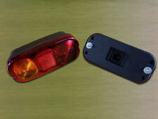 1 x JCB PARTS 3CX LAND ROVER KIT CAR  REAR LIGHT UNIT LAMP  UNIVERSAL COMPACT