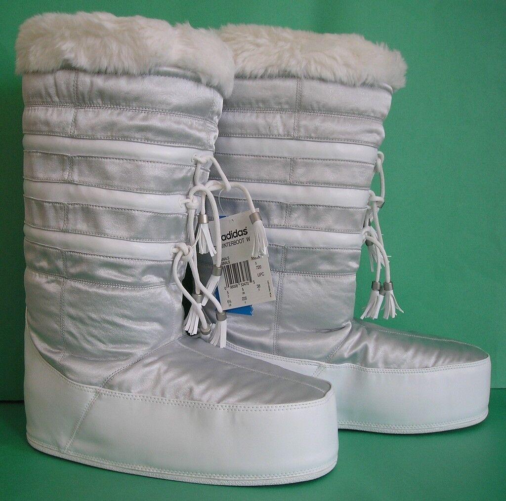 RARE~ADIDAS WINTER BOOT ski Snow superstar CARLO GRUBER fur Shoes~Womens sz 10.5