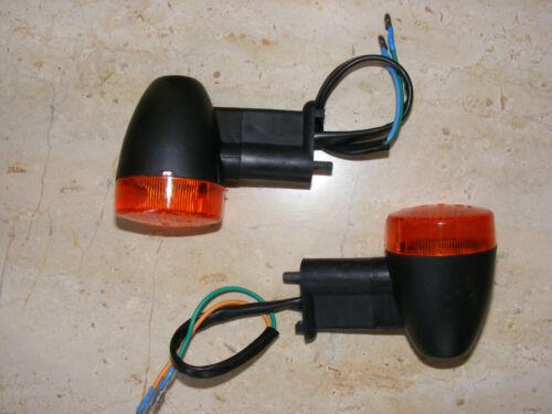 2x Clignotant//Clignotant éclairage pour Moto//Mokick//MOBYLETTE//tracteur//quad e4