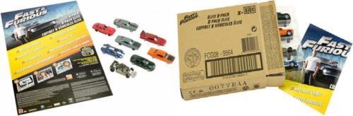 8-Pack Fast /& Furious Elite Diecast Vehicles