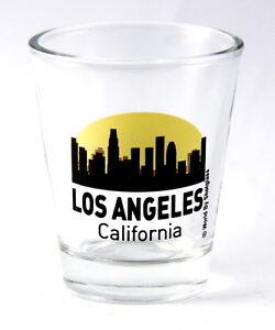 LOS-ANGELES-CALIFORNIA-SUNSET-SKYLINE-NEW-SHOT-GLASS-SHOTGLASS