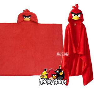 Angry-Birds-Hooded-Fleece-Blanket-Cape-New-Gift-Go