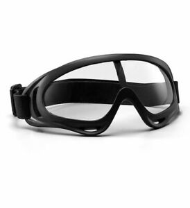 RockBros Anti-fog Cycling Sports Glasses Fully Sealed Protective Goggle Clear