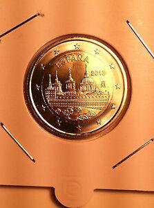 2 EURO ESPAGNE 2013 SAINT LAURENT DE L'ESCURIAL COMMEMORATIVE NEUVE