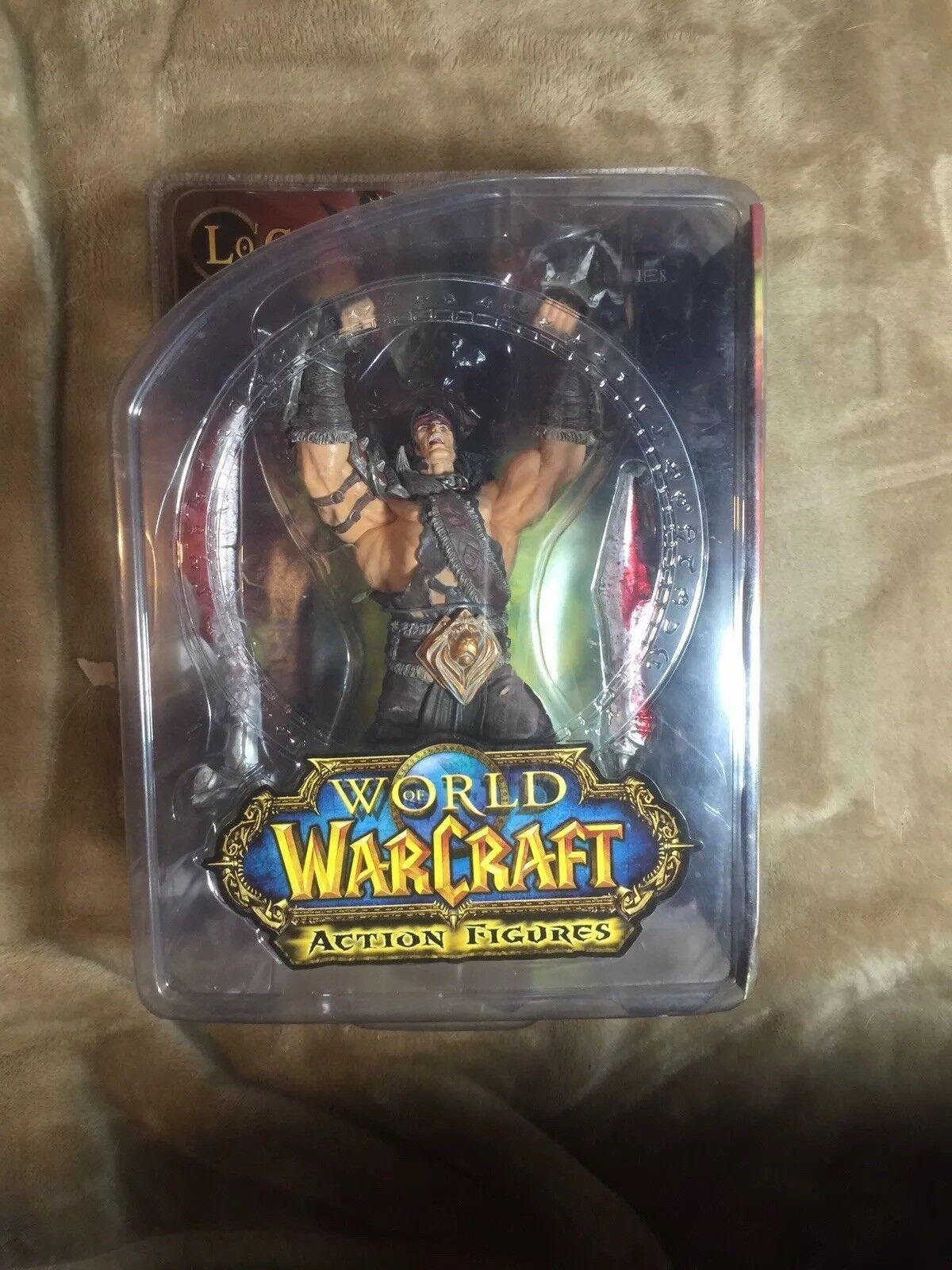 DC Unlimited WORLD of WARCRAFT Alliance Hero LO'GOSH Gladiator King Blizzard Ent