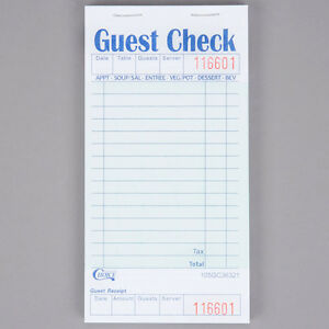 Choice-1-Part-Green-and-White-Guest-Check-with-Bottom-Guest-Receipt-10Pks-of-50