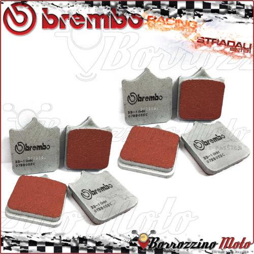 8 FRONT BRAKE PADS BREMBO SINTERED ROAD 07BB33SC TRIUMPH SPEED TRIPLE 1050 2009