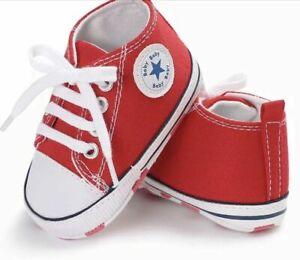 Dernier bébé/enfants Toile Baskets Bébé Garçon/Fille Semelle Souple, bon pour Pré-Marcheurs.