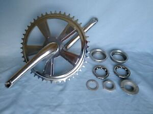 Schwinn Stingray Crank & Sprocket 1974 oem schwinn with Hardware and Bearings