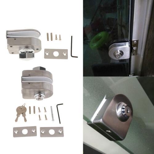 Glastürschloß Vitrinen Schloß mit Schlüsseln für Glastüren