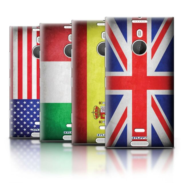 STUFF4 Phone Case/Back Cover for Nokia Lumia 1520 /Flags