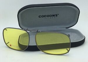 fce397a3732 Image is loading New-COCOONS-Yellow-Sunglasses-Eyeglasses-Over-Rx-Clip-