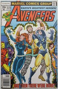 The Avengers 173 1978 Marvel Guardians Of The Galaxy Collector