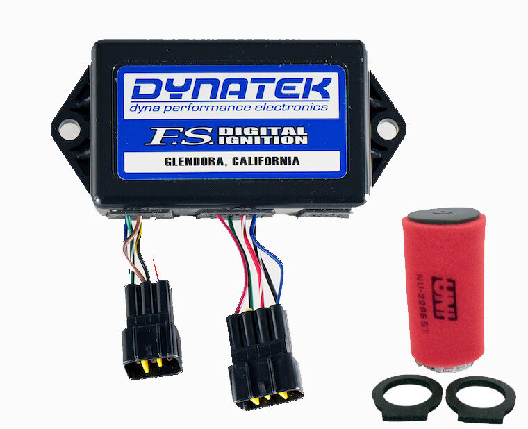 Dynatek Cdi Zündung + Uni Luft Filter Einlass Einlass Einlass Yamaha Warrior 350 02 03 04 Dyna 956084