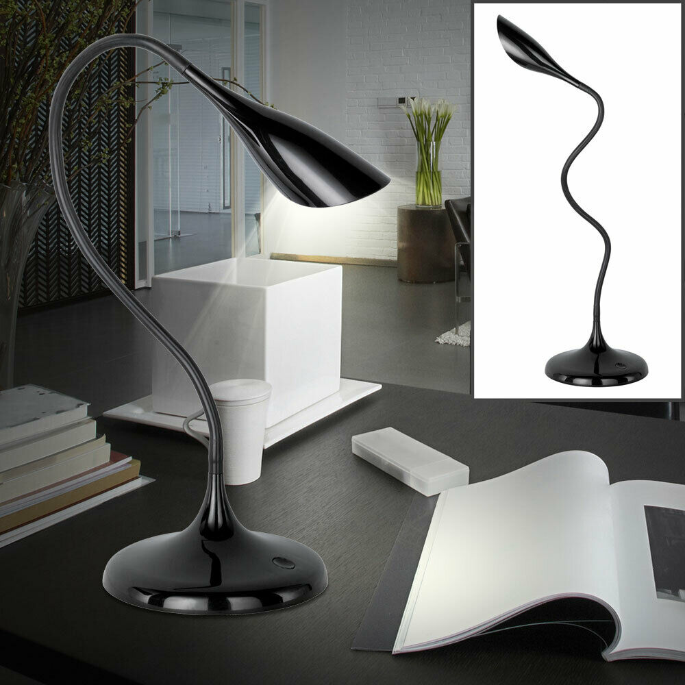 LED Table Beistell Lamp Flexo Kids Game Room Reading Stand Lamp Movable