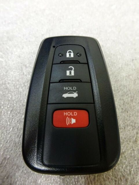 Toyota camry smart key programming