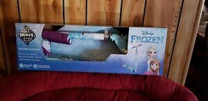 by Huffy Disney Frozen Girls 2-Wheel Inline Folding Scooter