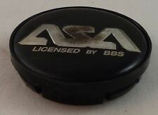ASA Wheels Black Custom Wheel Center Cap Caps (1) # 83225
