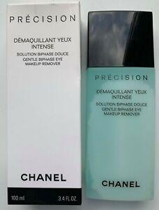 Chanel Precision нежный двухфазное средство для снятия макияжа глаз 100 мл 3.4 жидк. унц. (примерно 100.55 мл) новый в упаковке