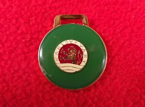 Antique-Pin-Badge-Karlovy-Vary-town-City-key-ring-keyring