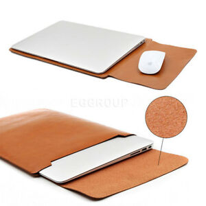For-13-034-13-3-034-Laptop-Tablet-Light-Brown-Universal-Leather-Sleeve-Bag-Pouch-Case