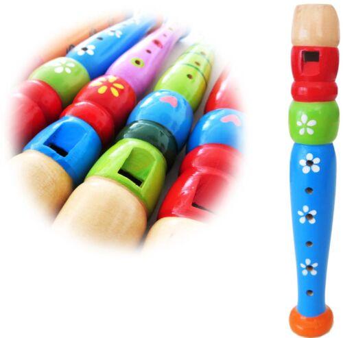 KEEPDRUM KFL1BL Flöte aus Holz für Kinder Blau