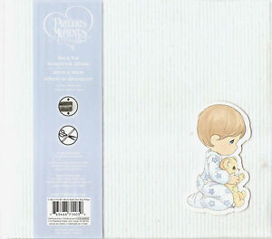 Precious Moments Quilted 8 X 8 Baby Boy Scrapbook Album Expandable 10 Pages Ebay