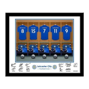 Leicester City F.c - Personalised Dressing Room Photo-afficher Le Titre D'origine