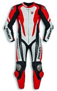 DUCATI-Dainese-Corse-K1-Kaenguru-Lederkombi-Kombi-Leather-Suit-Einteiler-NEU
