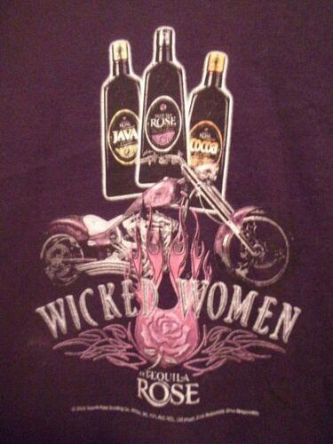 Tequilla Rose n Wicked Women  n Chopper black L t