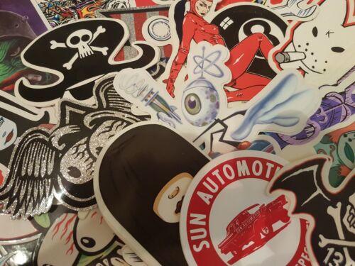Low Brow Kustom Kulture Art Sticker Hot Rod Car Skull Iron Cross Stormtrooper