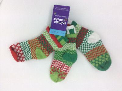 Solmate Socken 2 Paar Mit Ersatz Kinder Klein Rot Grün Neu Kids' Clothing, Shoes & Accs
