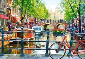 (CSC103133) - Castorland Jigsaw 1000 pc - Amsterdam Landscape