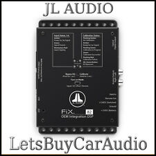 JL AUDIO FIX-82 OEM ADD ON DSP, AUTO TIME CORRECTION, DIGITAL EQ, OPTICAL OUT