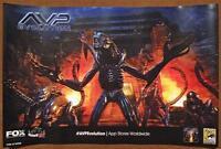 Avp Evolution 12x18 Original Promotional Tv Poster Sdcc 2013 Mint Xxxx/2000