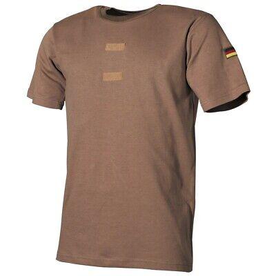 Original Bundeswehr T-shirt Tropen Bw Shirt Unterhemd Mit Abzeichen Gr 3xs-5xl Ein GefüHl Der Leichtigkeit Und Energie Erzeugen Shirts & Hemden