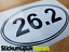 "26.2 Marathon Running Car Van Bumper Window Sticker Decal 4/"" 100mm Wide"