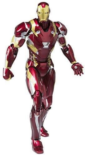 Kb04c S.H. Figuarts - Iron Man Mark 46 Complete Scale Actiom Figure