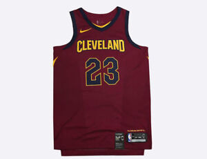 super popular 959bb e01eb Details about Nike Cleveland Cavaliers LeBron James Authentic Jersey size  56 2XL 863018 677