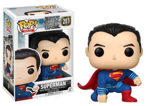 Superman New!!! Heroes Funko POP 207 Justice League