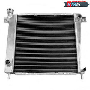"3Row Aluminum Radiator For 1985-1994 Ford Ranger //1985-1990 Bronco II V6 16/""Fan"