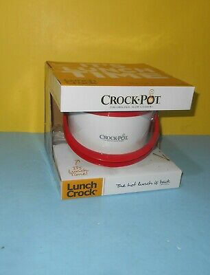 Crock-Pot SCCPLC200-R 20-Ounce Lunch Crock Food Warmer Red