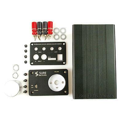 Audio Amplifier DIY Suite –Volume Control IC  Audio Case Enclosure Breadboard PC