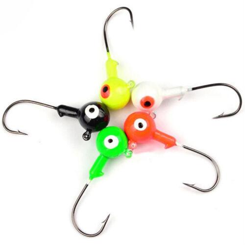 10pcs Jig Heads Owner Micro Precision 1g-10g Ultra Light Lure Fishing Jig Head