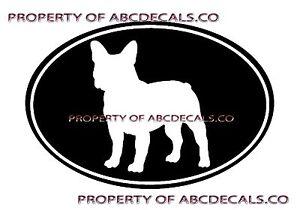 VRS LOVE My Dog BULLDOG Heart Puppy Adoption Rescue Car Decal Vinyl Sticker